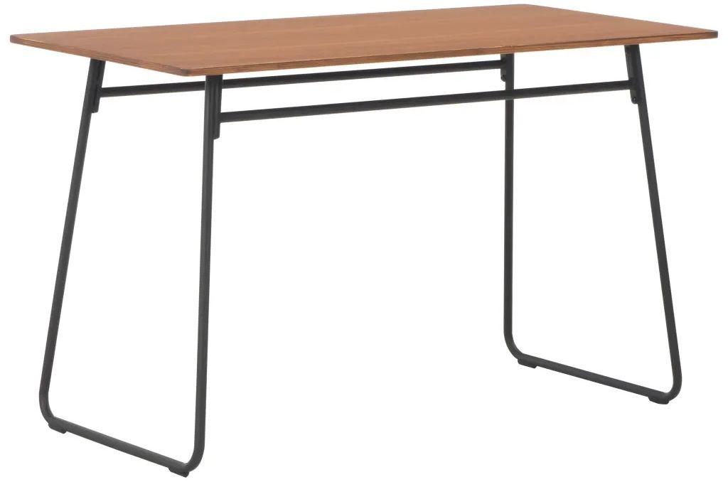 Stół jadalniany ze sklejki Bixor  brązowy