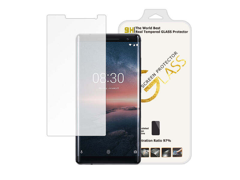 Nokia 8 Sirocco - szkło hartowane 9H