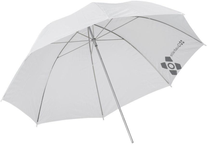 Quadralite parasolka biała przezroczysta 91cm