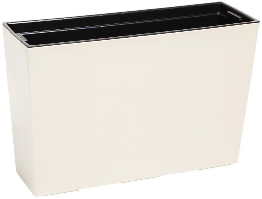 Kwietnik / Donica balkonowa 56 x 19 cm kremowa WERBENA