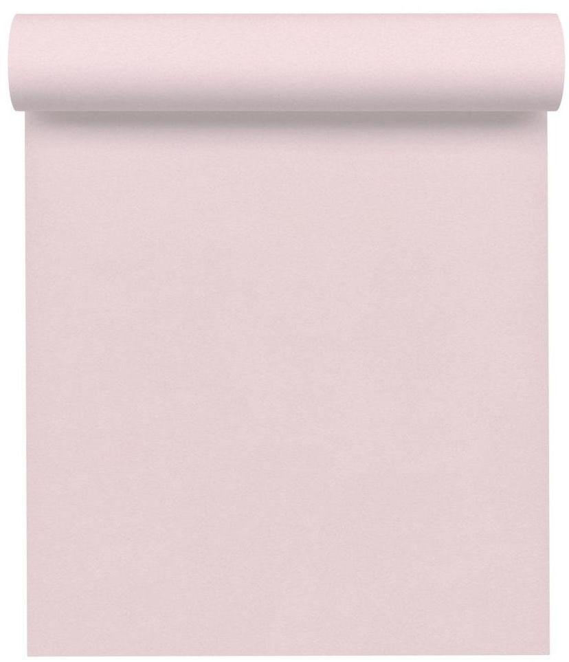 Tapeta jednobarwna różowa winylowa na flizelinie