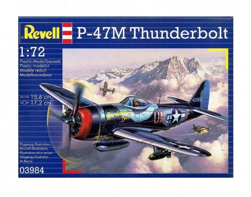 Model do sklejania P-47 Thunderbolt