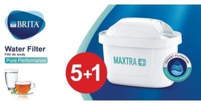 Wkład BRITA MAXTRA+ Pure Performance 5+1 szt. > DARMOWA DOSTAWA ODBIÓR W 29 MIN DOGODNE RATY