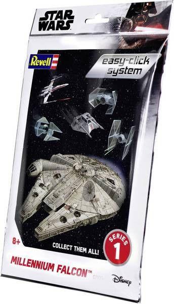 Modesl do sklejania Star Wars Millenium Falcon Easyclick