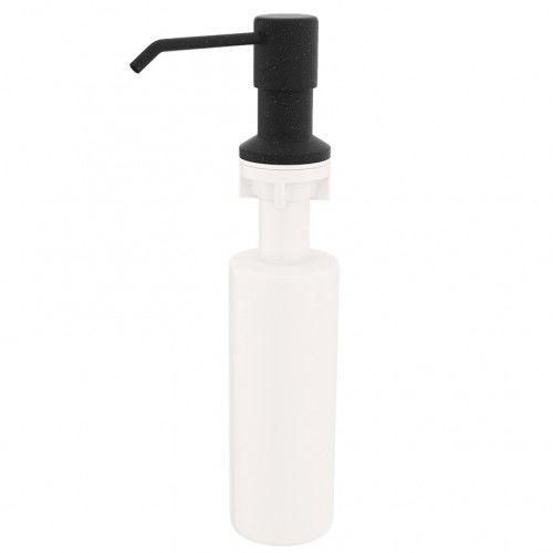 Dozownik MYDŁA/PŁYNU DO NACZYŃ 250 ml ,czarny nakrapiany