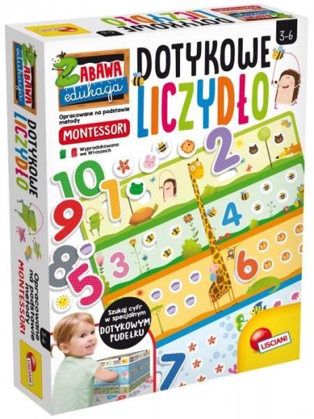 Montessori Plus Zabawa i edukacja Dotykowe liczydło ZAKŁADKA DO KSIĄŻEK GRATIS DO KAŻDEGO ZAMÓWIENIA