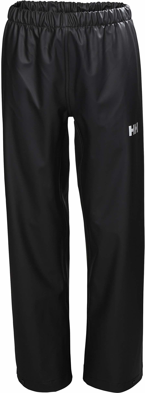Helly Hansen dziecięce Jr Moss wodoodporne spodnie z muszli przeciwdeszczowej Czarny 12 Years