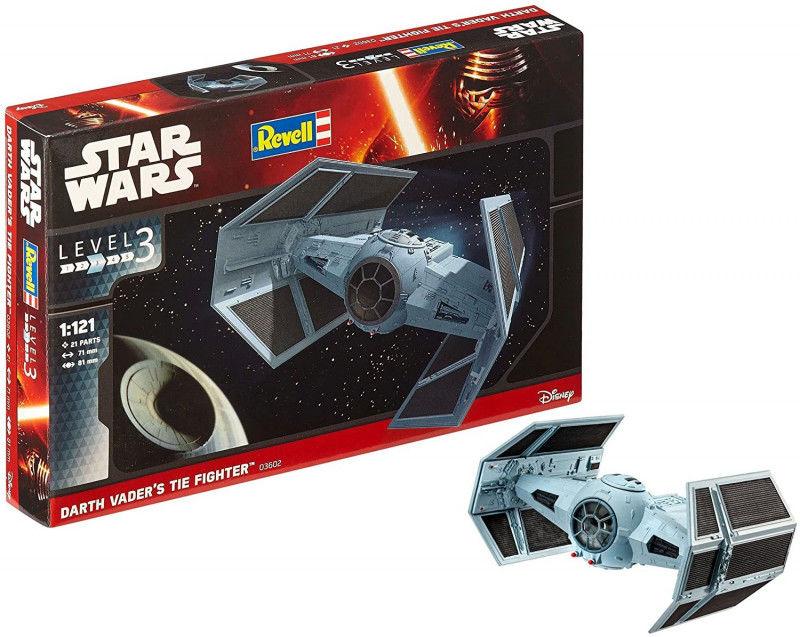Model do sklejania Star Wars Darth Vaders Tie Fighter