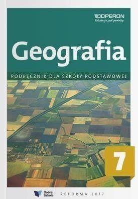Geografia SP 7 Podręcznik OPERON - praca zbiorowa