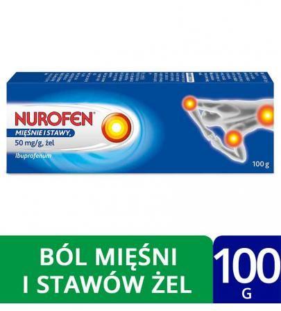 Nurofen mięśnie i stawy 50mg/g żel 100 g