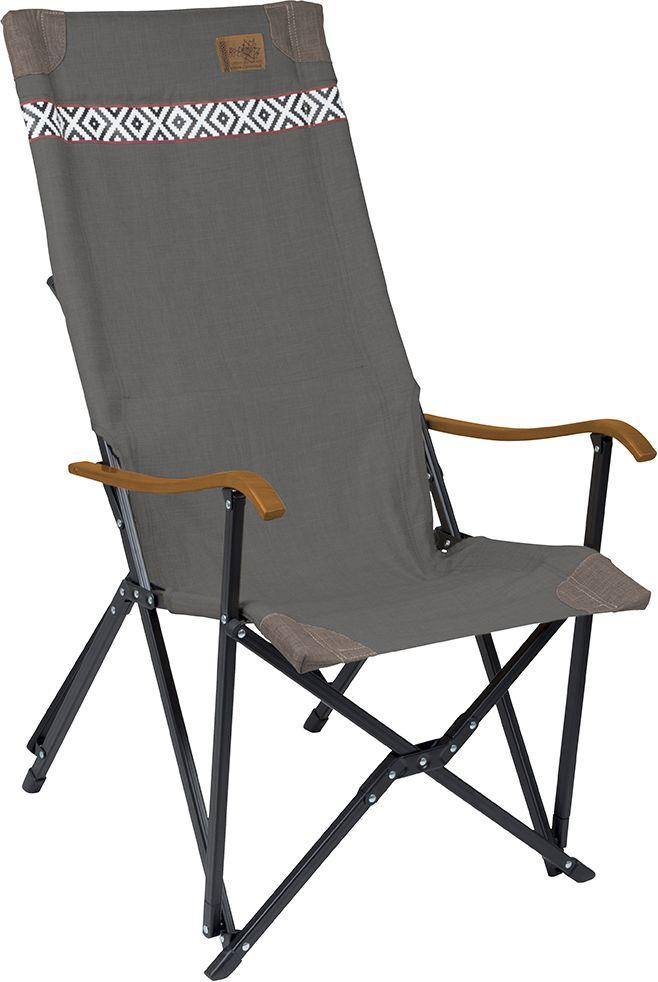 Krzesło kempingowe składane Camden szary