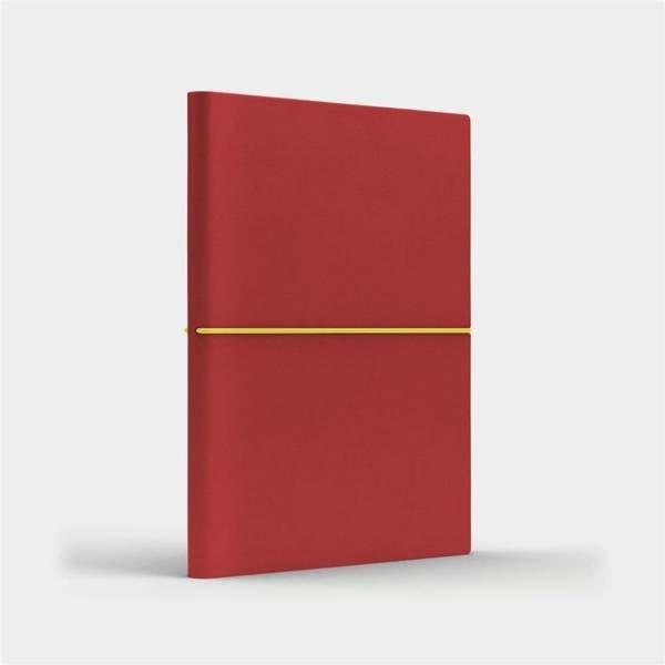 Notatnik B6 Fun S kratka czerwony/jasnozielony - Like U