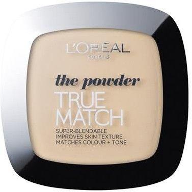 L''OREAL_True Match Powder puder prasowany D1-W1 Golden Ivory 9g
