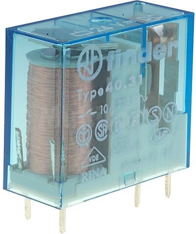 Przekaźnik elektromagnetyczny SPDT Ucewki 24VDC 10A/250VAC