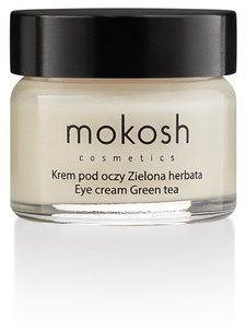 Korygujący krem pod oczy Zielona herbata mini Mokosh 15 ml