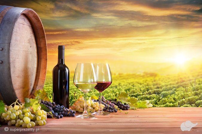 Zwiedzanie winnicy z degustacją i winem w prezencie