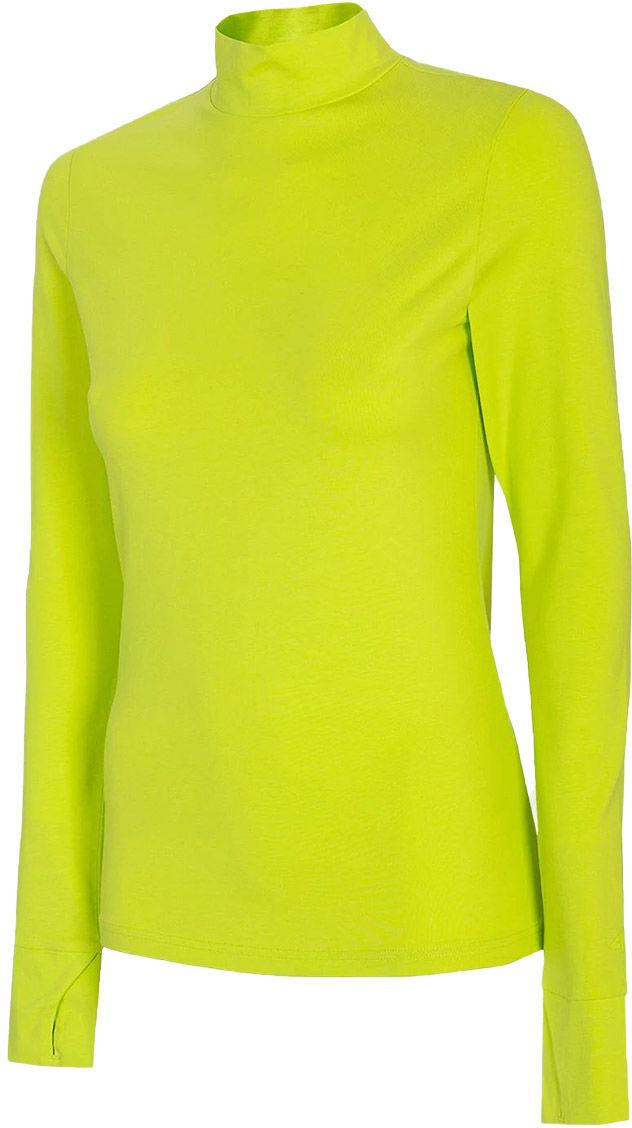 Koszulka damska 4F TSDL010 Longsleeve - zielony (H4L21 TSDL010-45S)