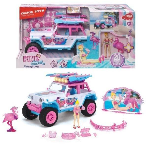 Playlife PinkDrivez Flamingo Jeep ZAKŁADKA DO KSIĄŻEK GRATIS DO KAŻDEGO ZAMÓWIENIA