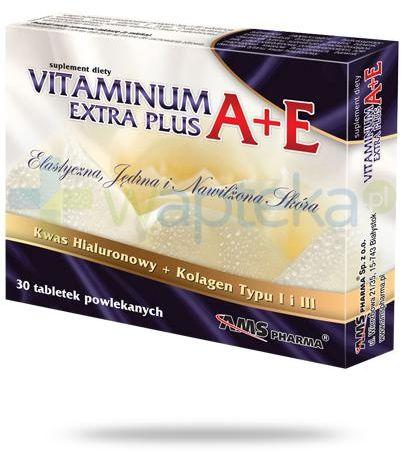 AMS Vitaminum A+E Extra Plus 30 tabletek