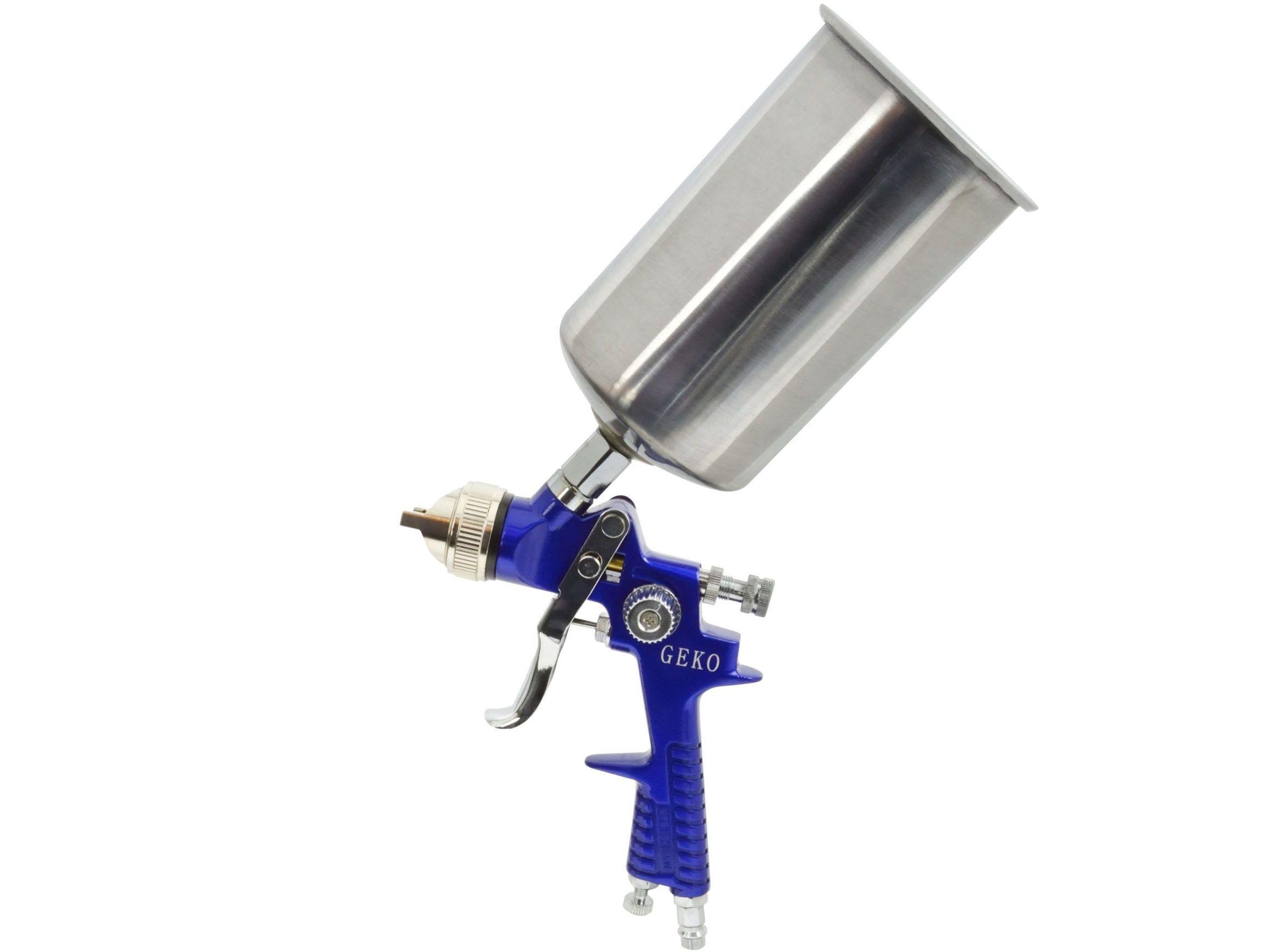 Pistolet lakierniczy HVLP 1000ml 1,5mm metal. zbiornik (G01186)
