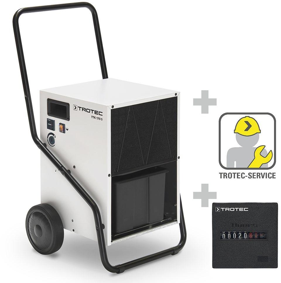 Osuszacz powietrza TTK 170 S model z 2013 roku + licznik godzin roboczych inkl. wbudowany