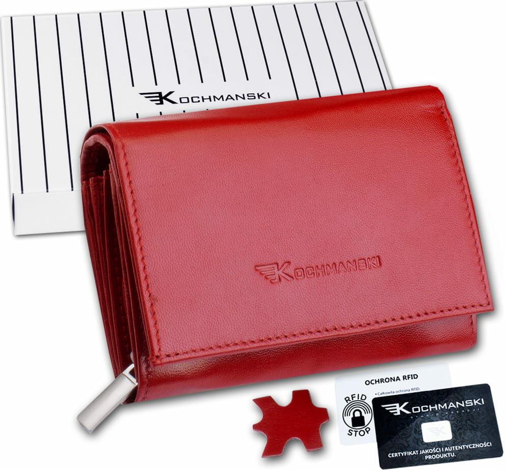 KOCHMANSKI portfel damski skórzany mały 4311