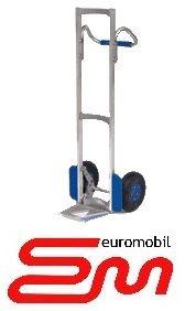 Wózek dwukołowy ręczny aluminiowy taczkowy LOOP (półka stała) MODULKAR