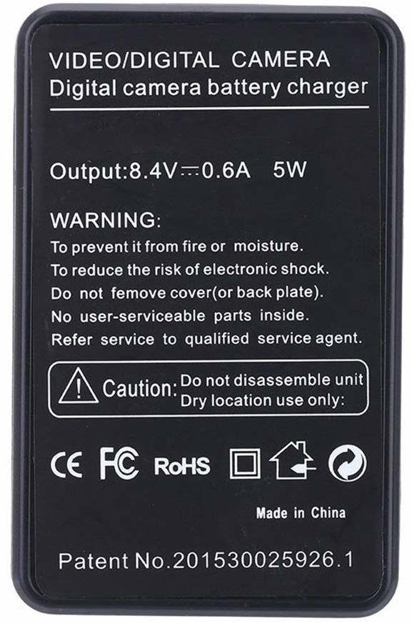 Amsahr cyfrowa zamienna mini ładowarka podróżna do kamery Sony NP-FP50, NP-FP70, NP-FP90, DVD103