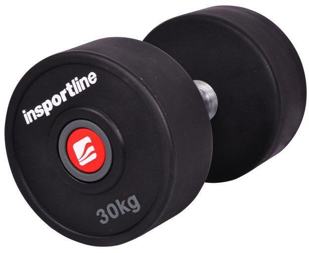 Hantla gumowana Profi Insportline 30 kg