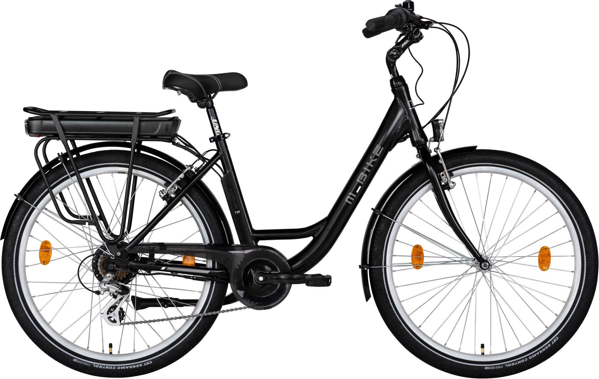 Rower elektryczny M_Bike E-CITY 728 czarny...