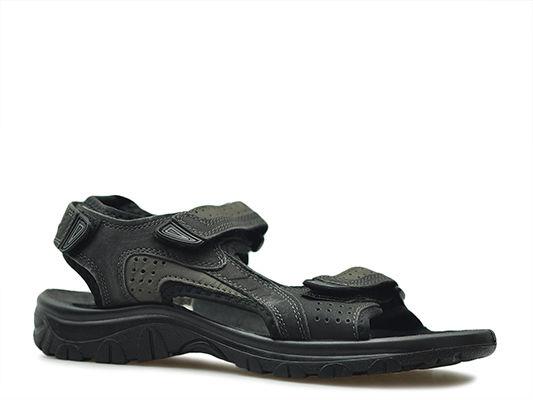 Sandały Marco Tozzi 2-18400-22 Czarne nubuk