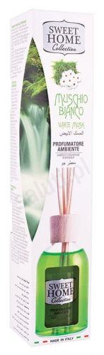 Sweet Home Białe piżmo - Odświeżacz powietrza z patyczkami (100 ml)