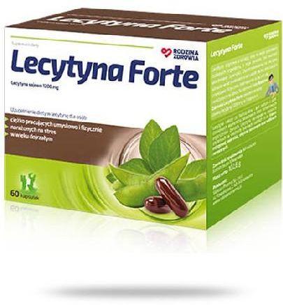 Rodzina Zdrowia Lecytyna Forte 60 kapsułek