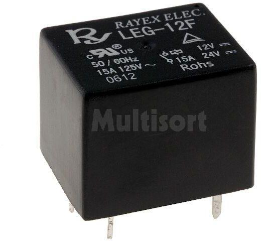 Przekaźnik elektromagnetyczny 12VDC 15A/120VAC