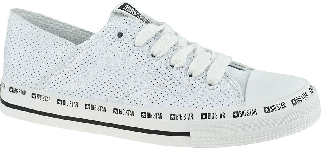 Trampki damskie białe BIG STAR FF274024