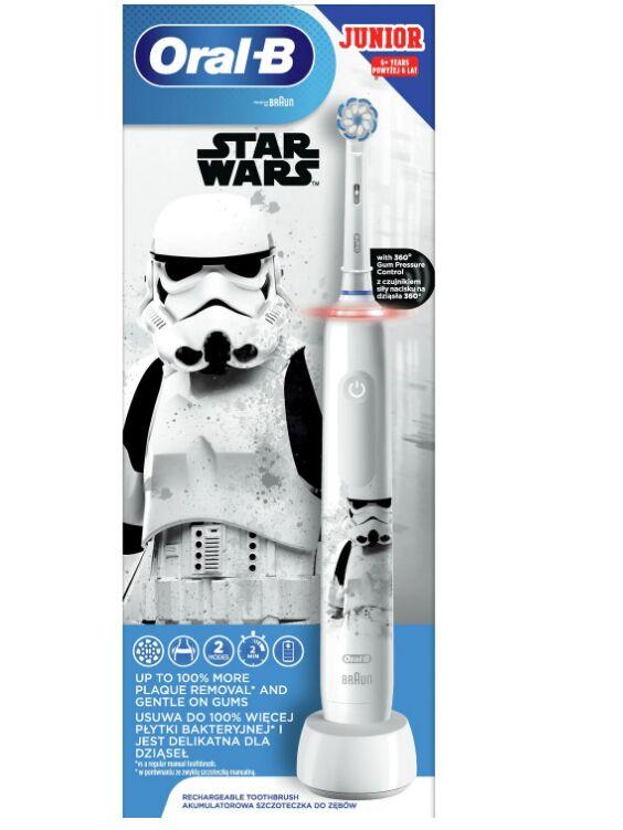 Oral-B PRO 3 Star Wars Szczoteczka elektryczna dla dzieci