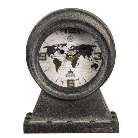 Zegarek Loft z Mapą