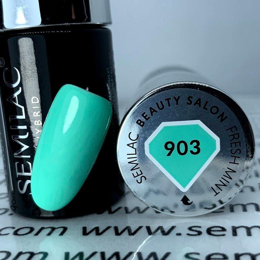 Semilac 903 FRESH MINT SBS Lakier Hybrydowy 7ml