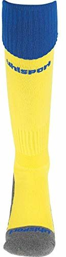 uhlsport Męskie rajstopy klubowe żółty limonkowy żółty/lazurowy błękit 28