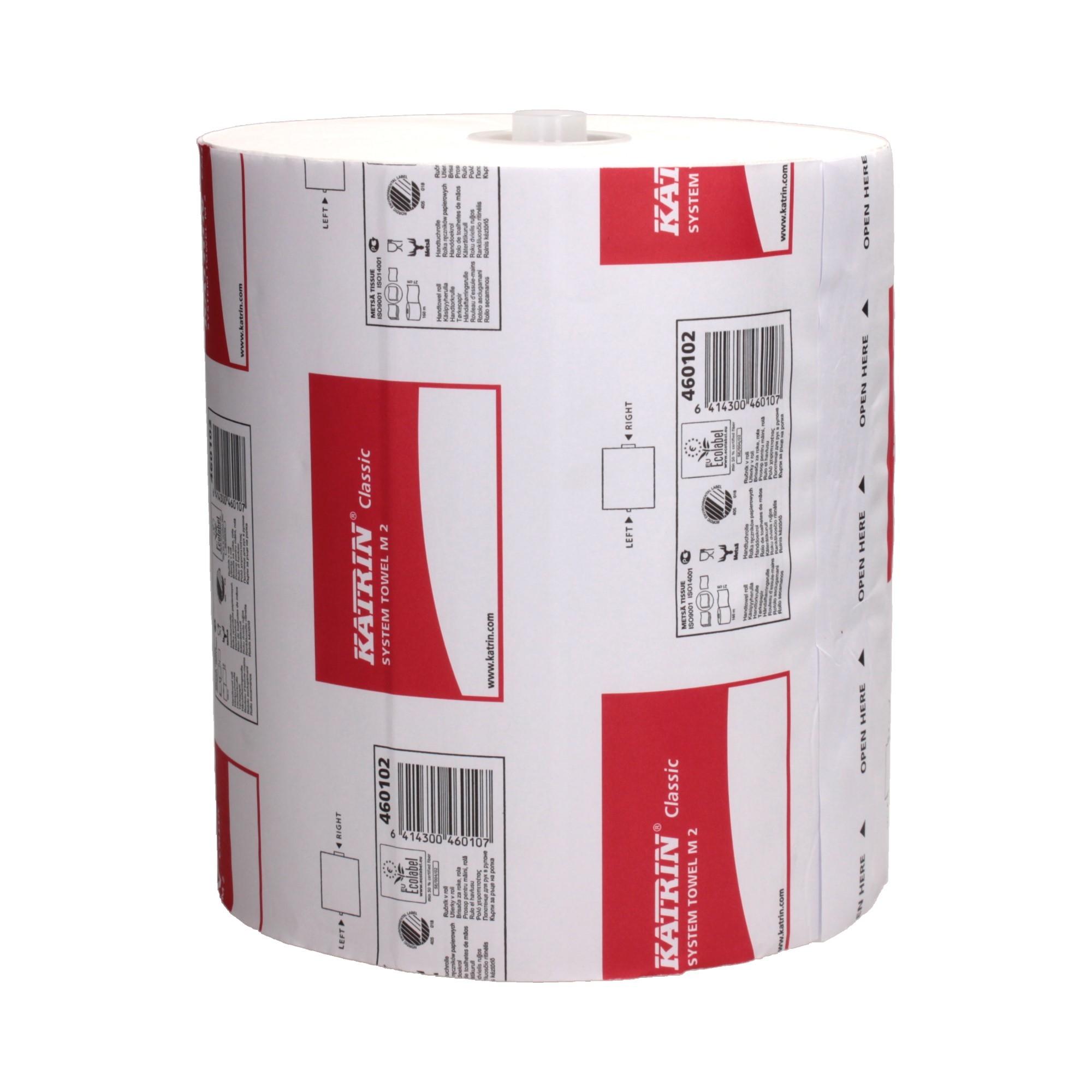 Ręcznik papierowy rola/system 2w fi190 biały KatrinClassicM2