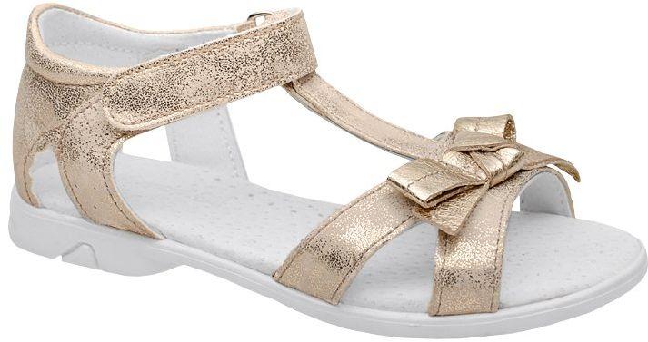 Sandałki dla dziewczynki KORNECKI 4525 Złote Sandały - Złoty