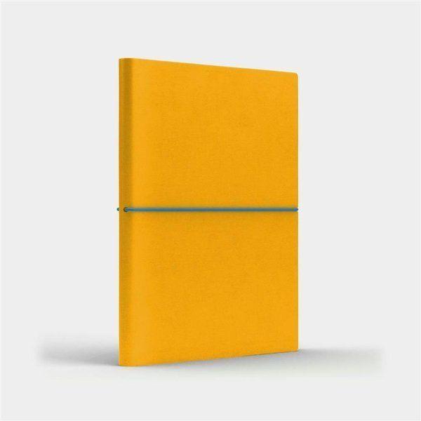 Notatnik B6 Fun S linia żółty/niebieski - Like U