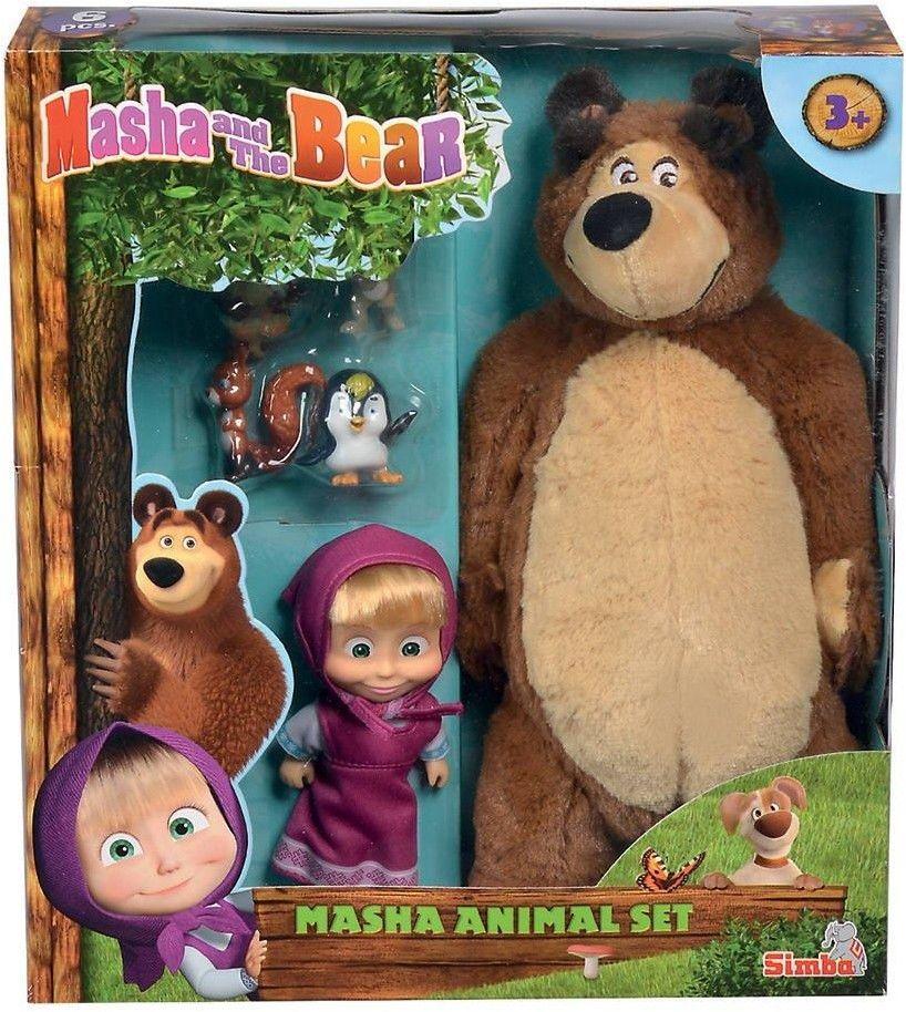 Masza i Niedźwiedź - Zestaw ze zwierzętami 9301073