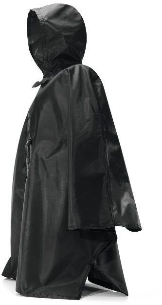 Reisenthel - peleryna mini maxi poncho - black