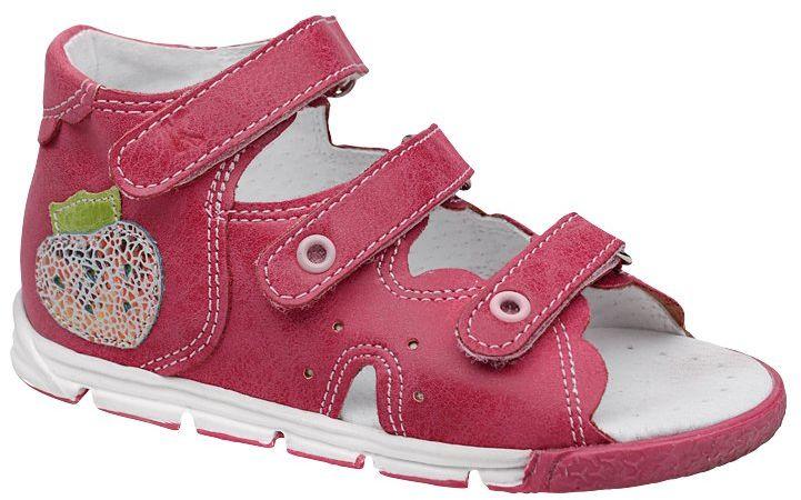 Sandałki dla dziewczynki KORNECKI 4953 Fuksja Sandały