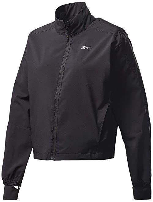 Reebok Damska kurtka Re Wind Jacket, czarna, L
