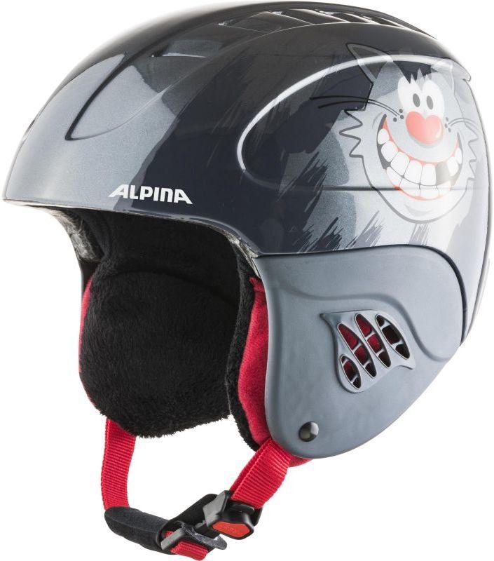 ALPINA kask zimowy juniorski / dziecięcy CARAT naughty A9035163 Rozmiar: 48-52,caratnghtcat