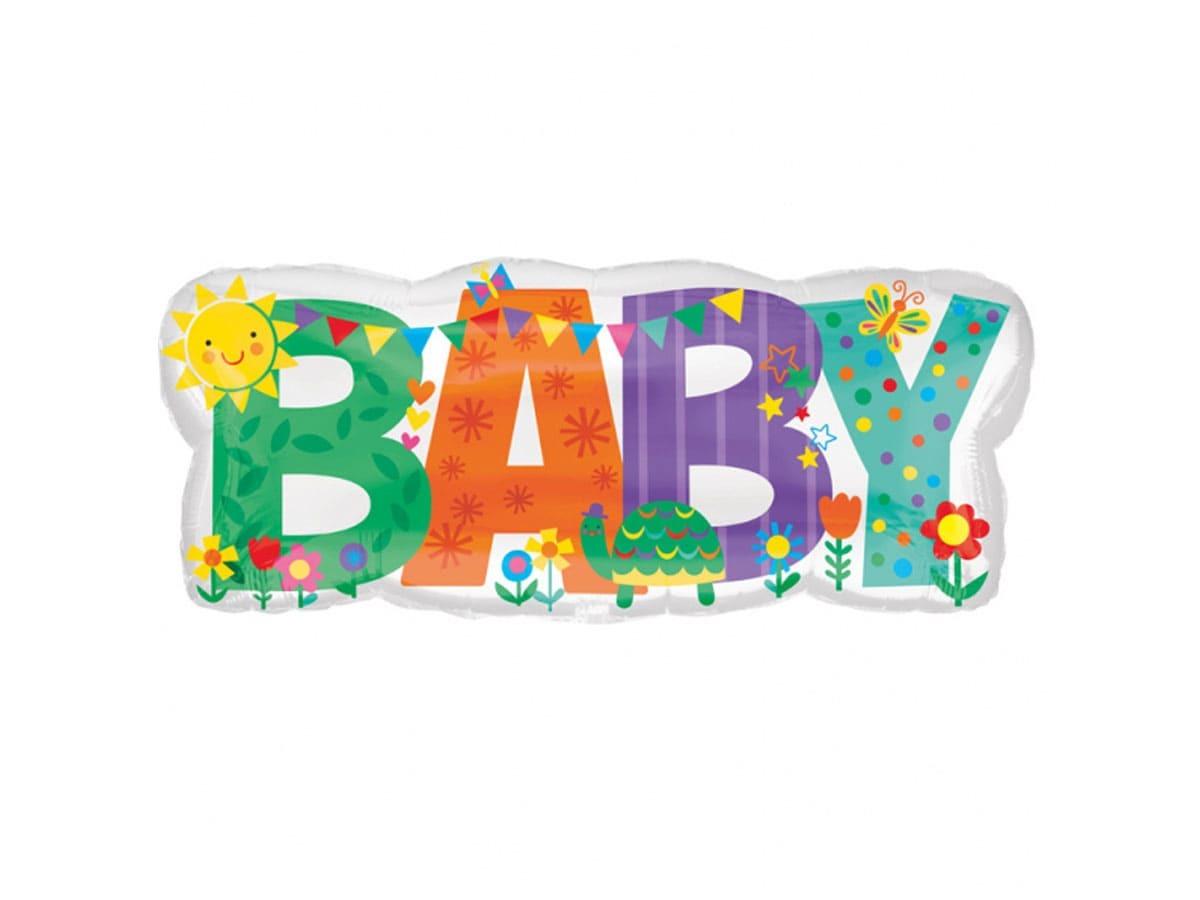 Balon foliowy Baby - 83 x 35cm