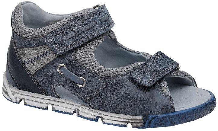 Sandałki dla chłopca KORNECKI 4956 Granatowe Sandały