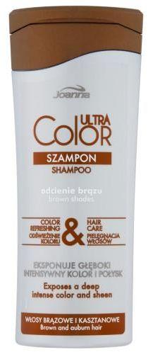Joanna Ultra Color odcienie brązu szampon do włosów 200 ml